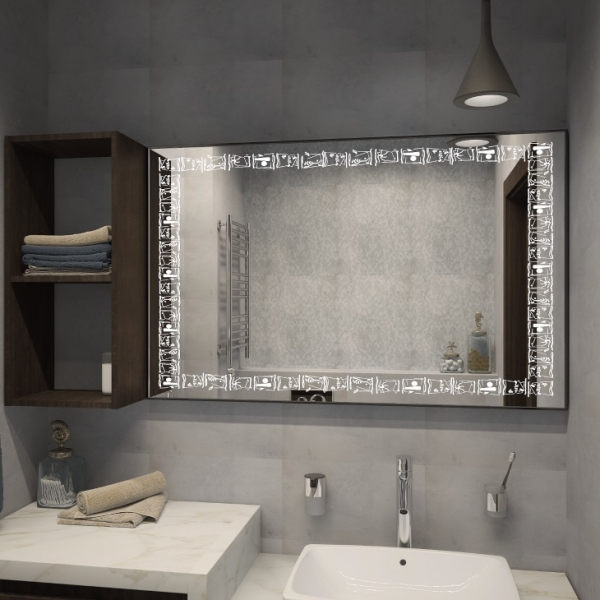 На что обратить внимание при выборе зеркала для ванной
